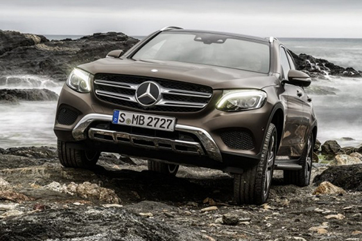 Accident Replacement Vehicle - Mercedes-Benz GLC 2015