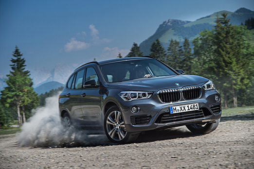 Accident Replacement Vehicle - 2016 BMW X1