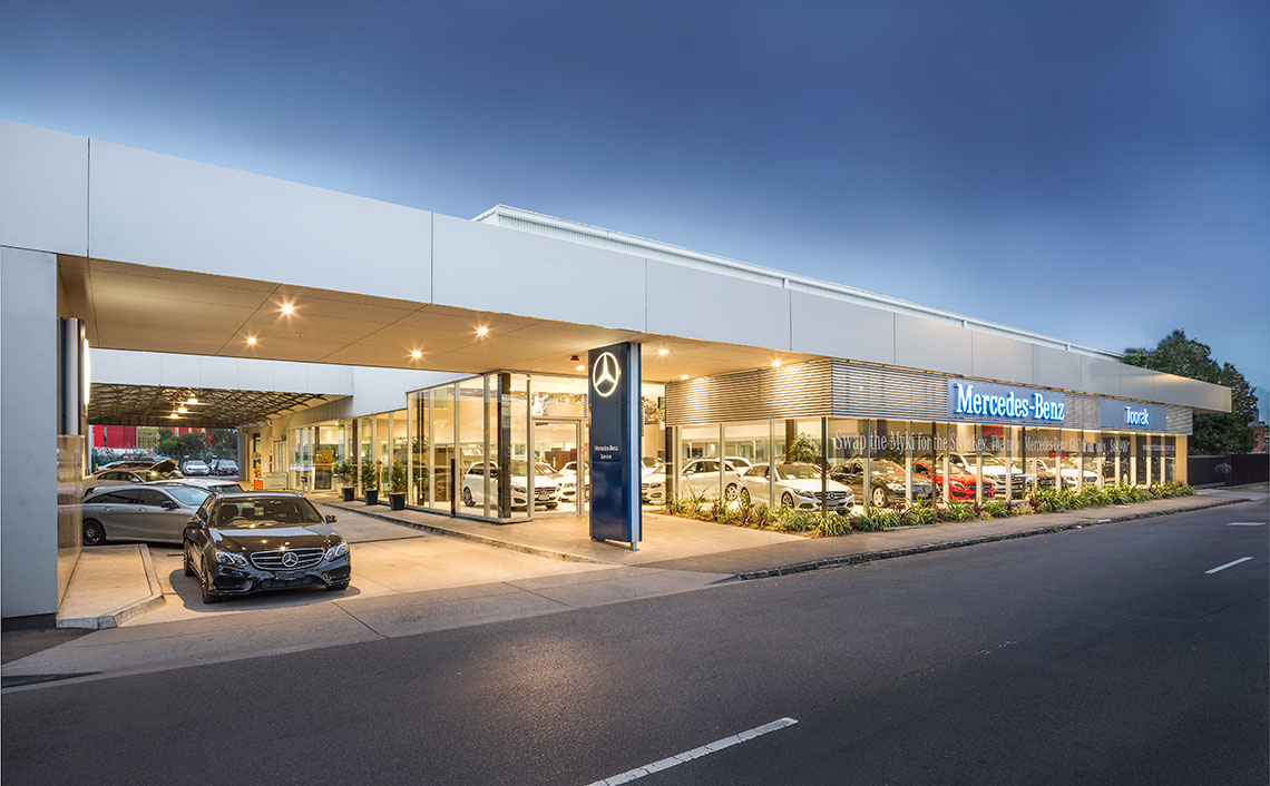 Luxury replacement vehicles in double bay city motor for Mercedes benz toorak